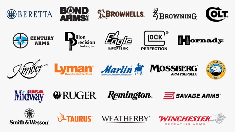 NRA Industry Allies and their Logos